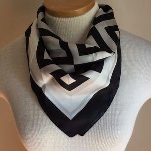 Black & White Silk Nordstrom scarf.